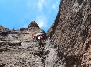 Trad climbing gran canaria