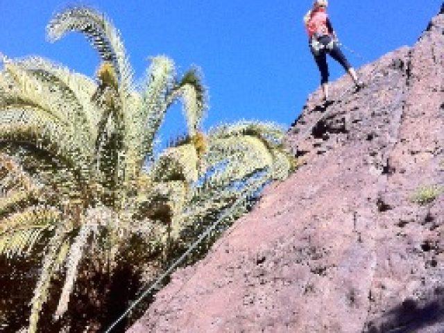 Prova på klättring