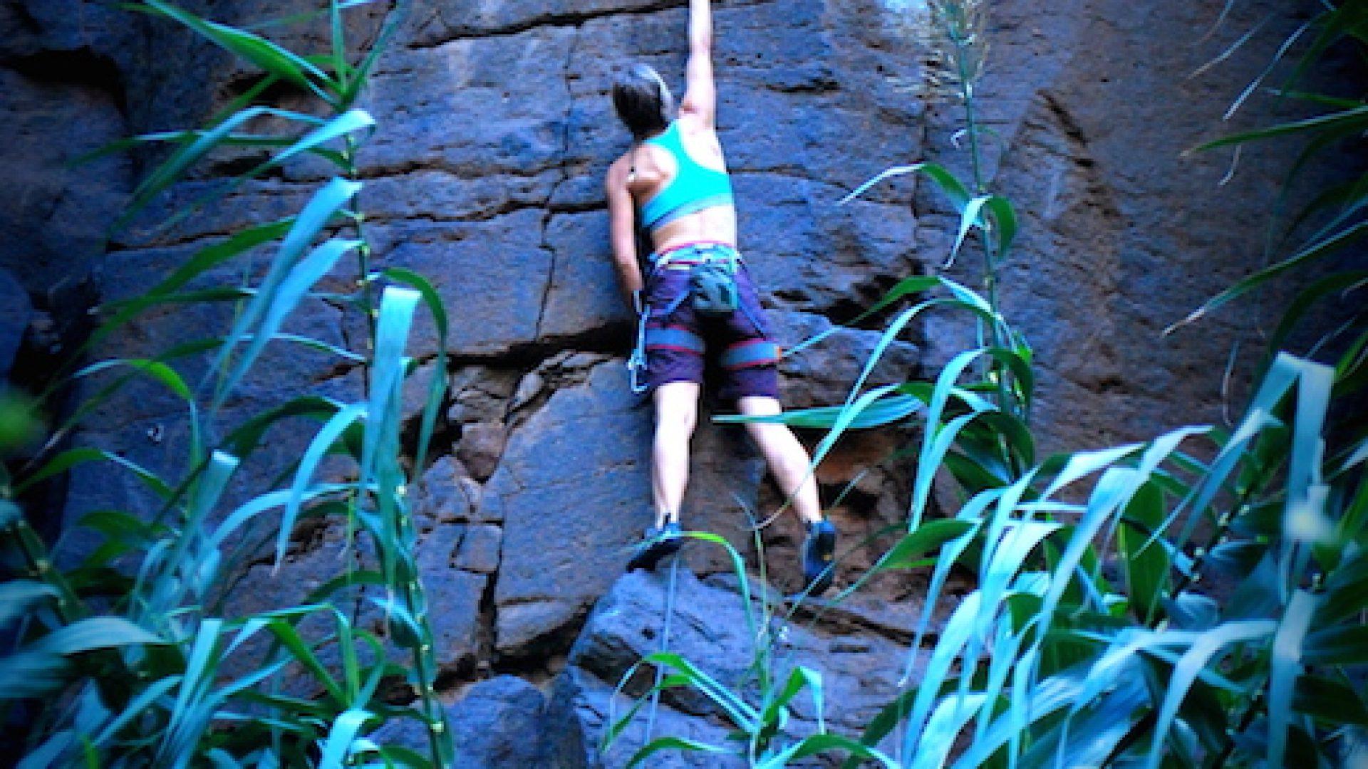 Climbing Gran Canaria