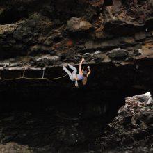 Climbing in Canarias